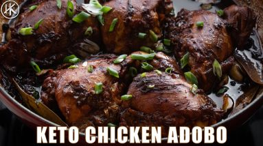 I ate this chicken dish EVERYDAY for a week | Keto Chicken Adobo