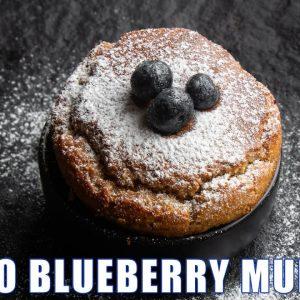 Single serve Keto Blueberry Muffin (Easy 90 second Breakfast)