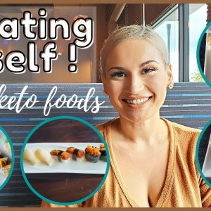 Treating Myself | Non Keto Foods