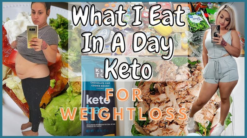 What I Eat In A Day KETO | Grocery Haul & Weekly Meal Plan