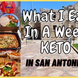 What I Eat In A Week KETO | San Antonio | Mini Vacay